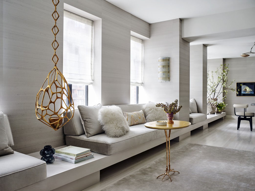 Park Avenue Apartment Bold Interior Decor By Kelly Behun