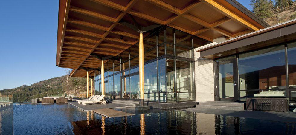 Kelowna Contemporary House On Okanagan Lake Idesignarch