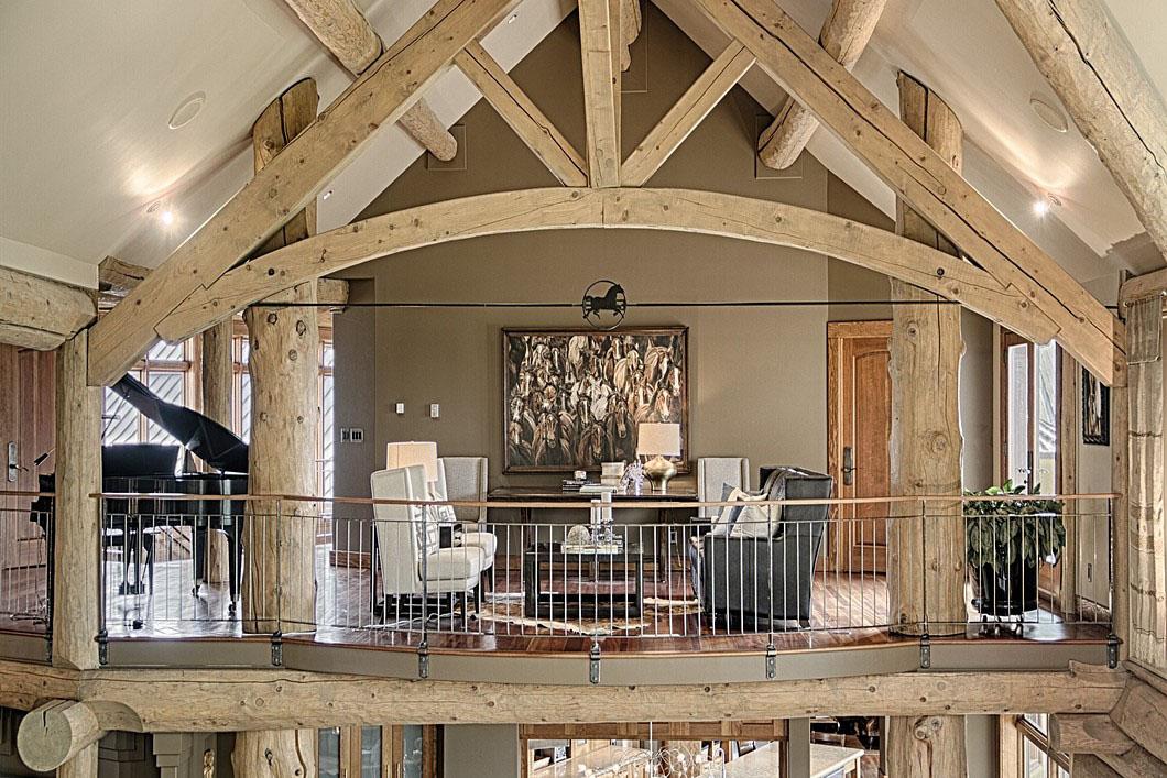 Luxury Rustic Alpine Style Home