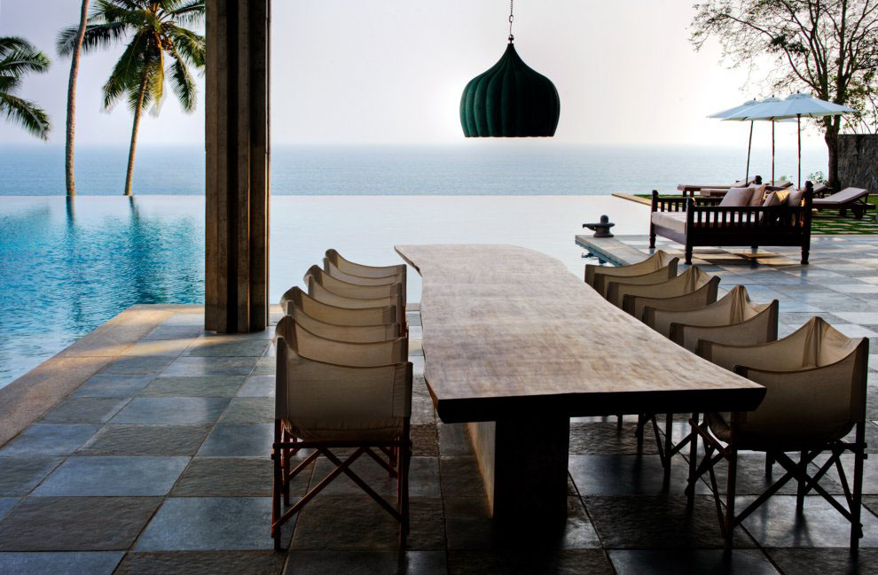 the cliff house in south india with view of the arabian sea rh idesignarch com