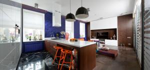 Stylish Apartment in Kyiv Ukraine