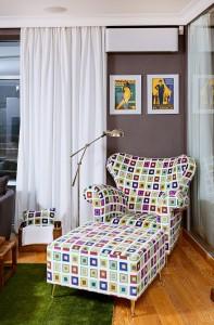 Colorful Armchair Sofa
