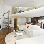 Knightsbridge Apartment With Mezzanine Study