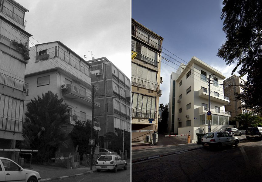 A 1930 S Apartment Building In Tel Aviv Gets A Face Lift