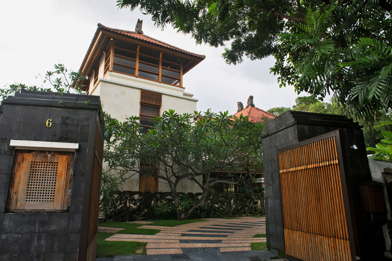 Balinese Bungalow House