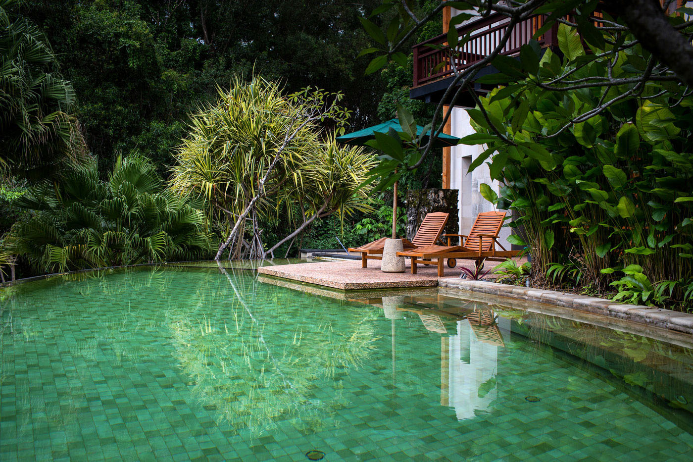 Balinese-style Swimming Pool