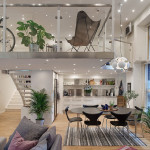 Cool Modern Loft Apartment In Gothenburg
