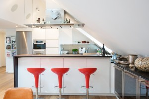 Renovated Modern Loft Kitchen