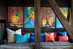 Colorful Eclectic Interior Design