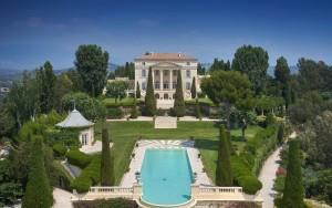 Neo-Palladian Style Mediterranean Villa