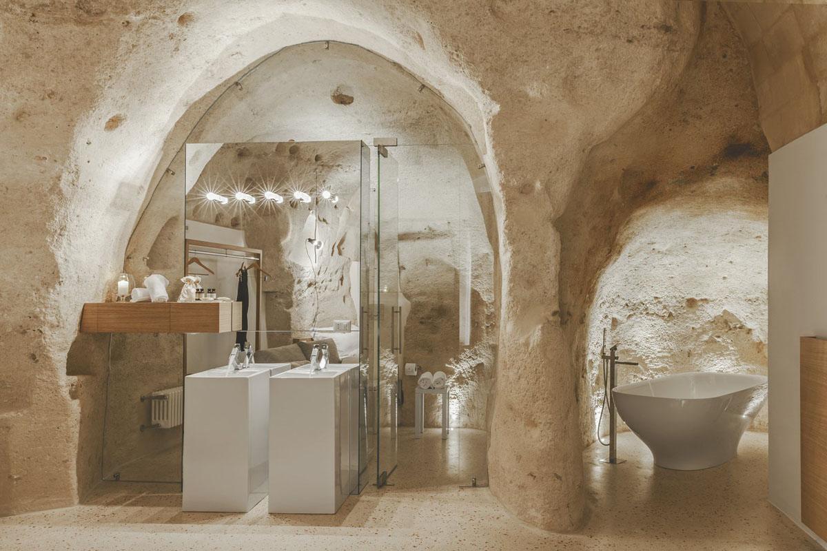 Limestone Grotto Bathroom