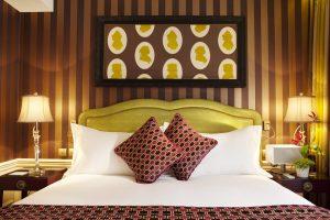 Vibrant Hotel Interior Decor