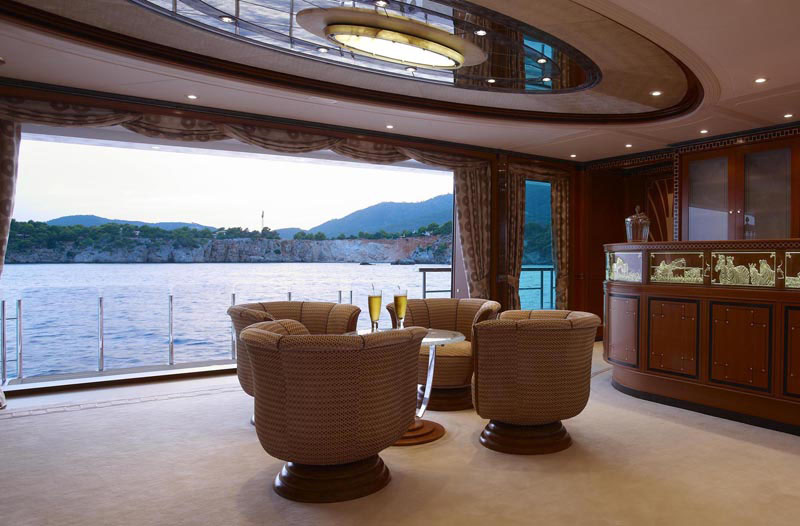 Superyacht Quot Lady Christine Quot Interiors Idesignarch