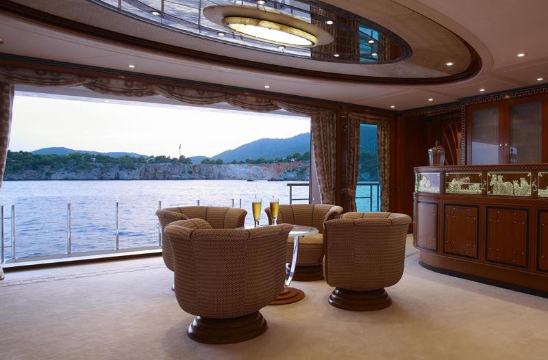 Superyacht Quot Lady Christine Quot Interiors Idesignarch Interior Design Architecture