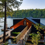 Cozy Boathouse In Muskoka With A Modern Twist