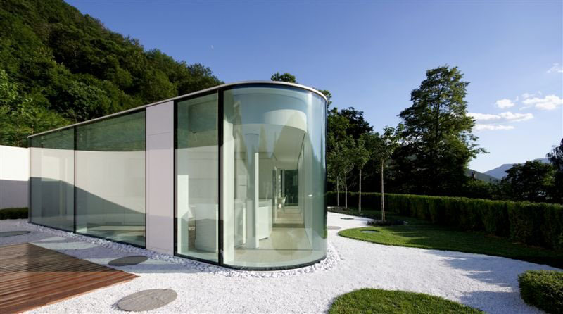 Lake Lugano Glass House Idesignarch Interior Design