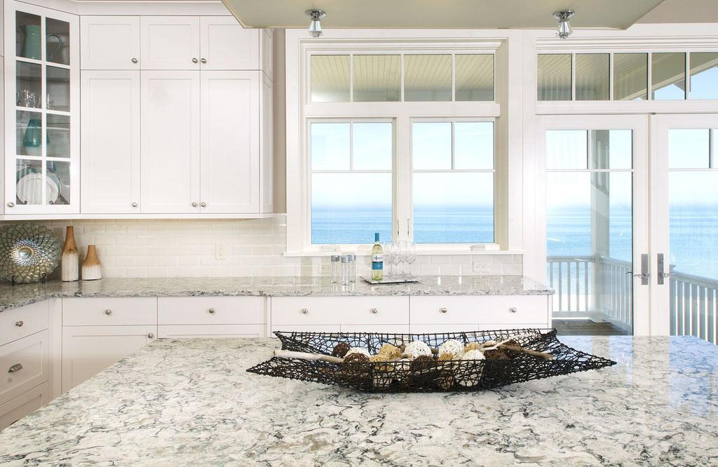 Stunning Kitchen with Lake View