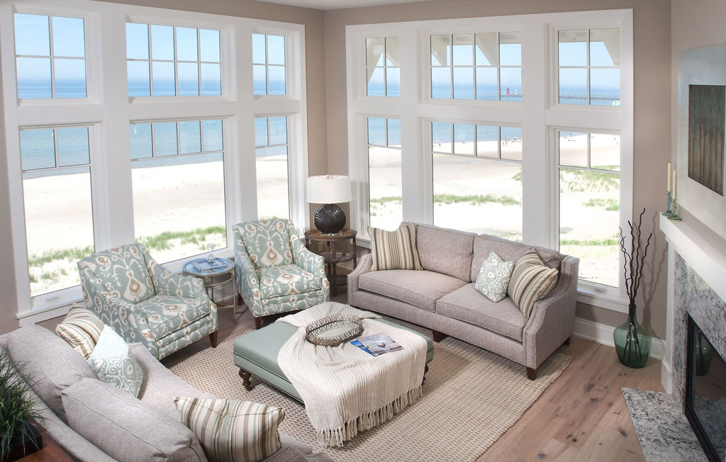 Coastal Design Beach House On Lake Michigan Idesignarch