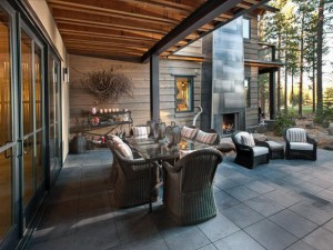 Mountain Home Outdoor Kitchen