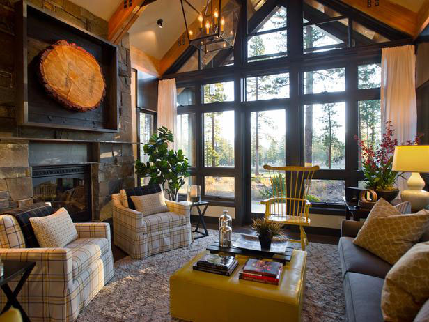 Contemporary Country Living Room