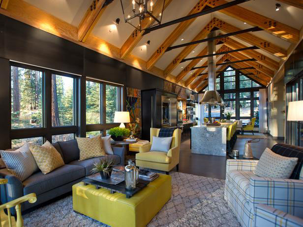 Rustic Mountain Style Lake Tahoe Dream Home | iDesignArch ...