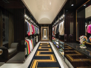 Luxury Contemporary Walk-In Closet