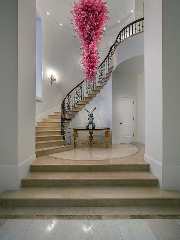 Elegant Grand Spiral Staircase