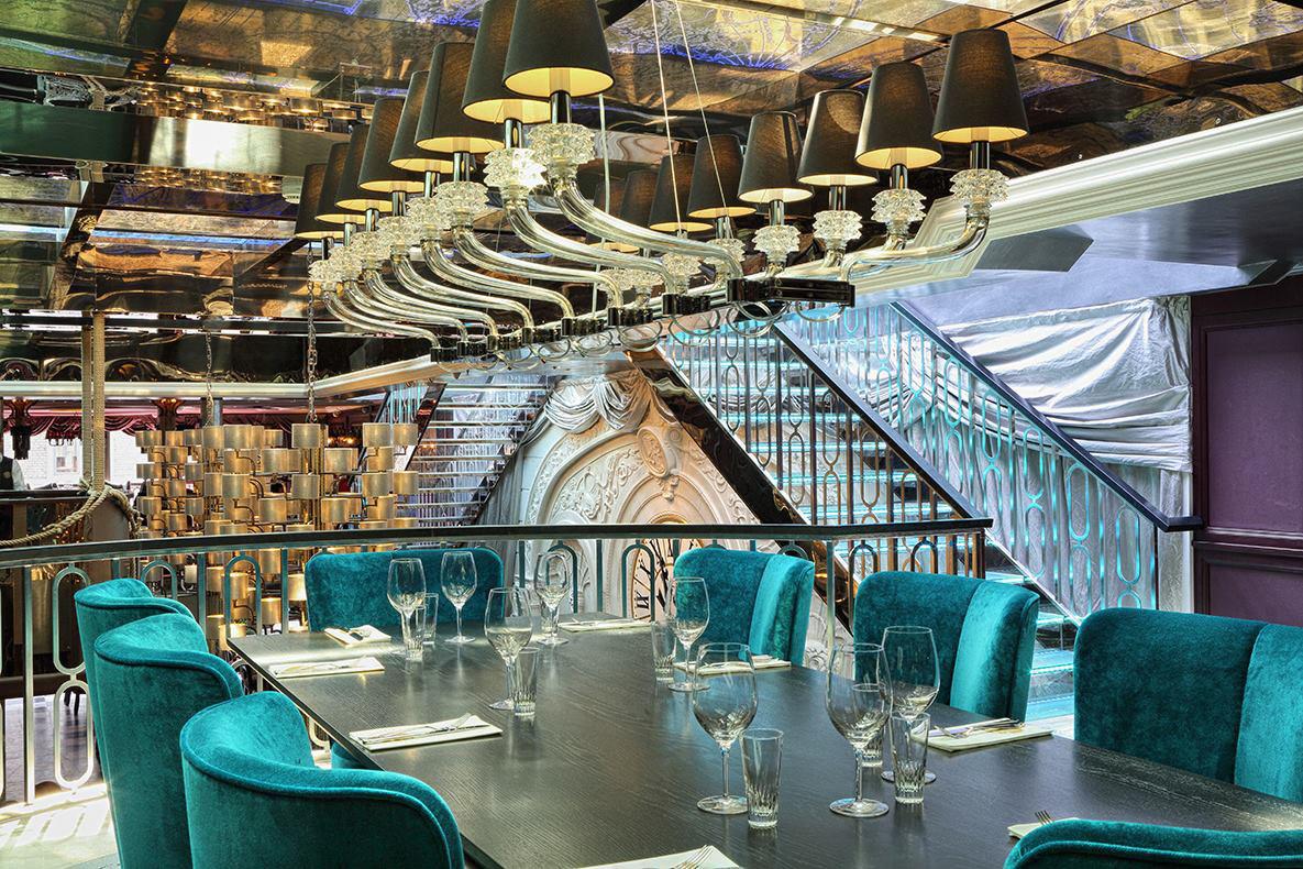 Stylt Trampoli Restaurant Interior Design