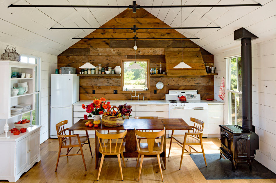 Small House Kitchen in the Country