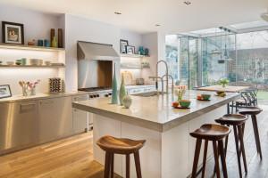 Modern London Home Kitchen