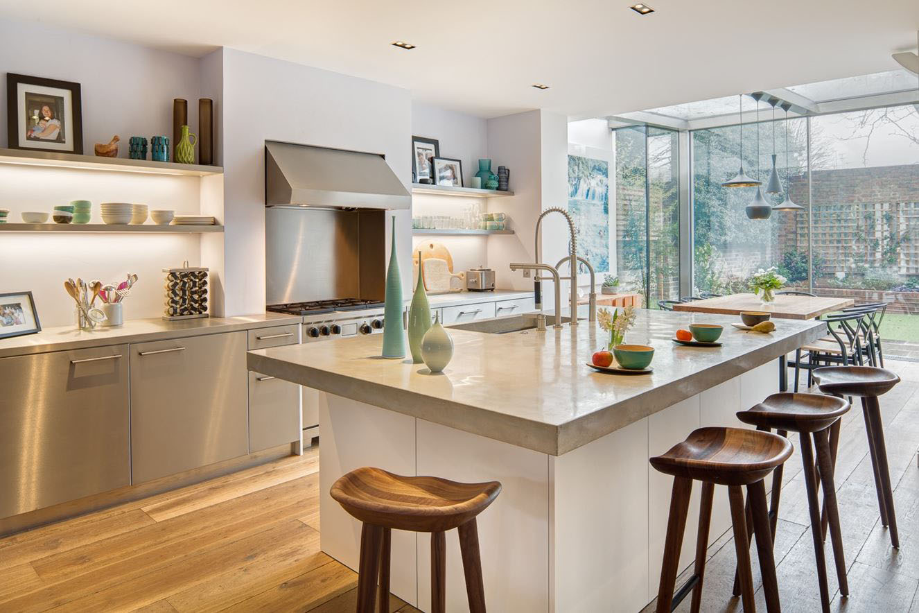 Modern London Home Kitchen
