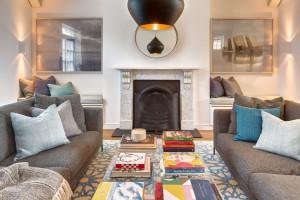 Renovated Contemporary Interior Living Room Design