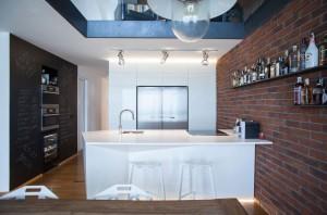 Modern Loft Kitchen