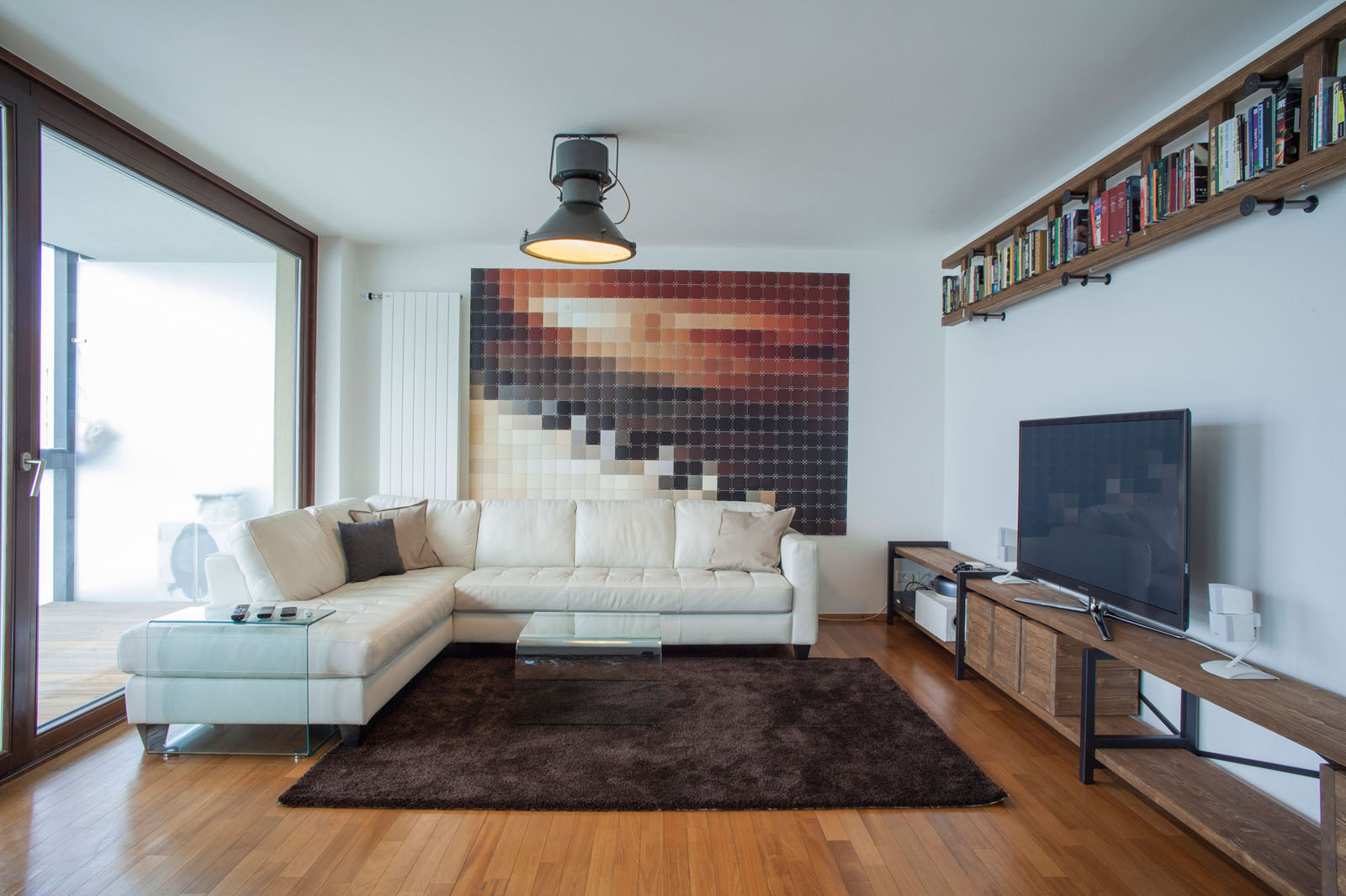 Triplex Loft Apartment Maximizes Natural Light ...