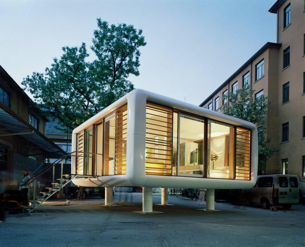Loftcube Tiny Prefab Mobile Loft Idesignarch Interior Design