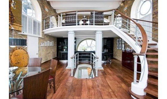 Boat Themed Loft Apartment In London Idesignarch