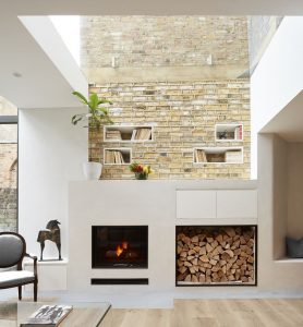 Glass Roof Living Room
