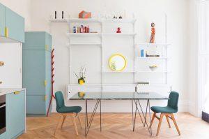 Bright Contemporary Apartment Interior Decor