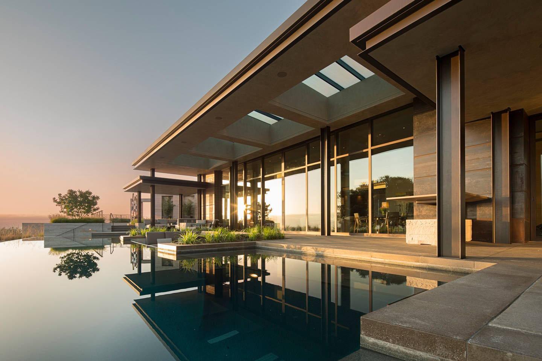 Modern Luxury Estate With Views Of The San Francisco Bay Area | iDesignArch | Interior Design, Architecture & Interior Decorating eMagazine
