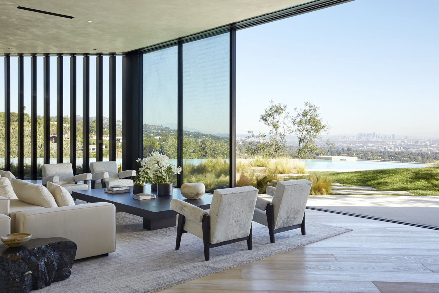 Los Angeles Home with City View