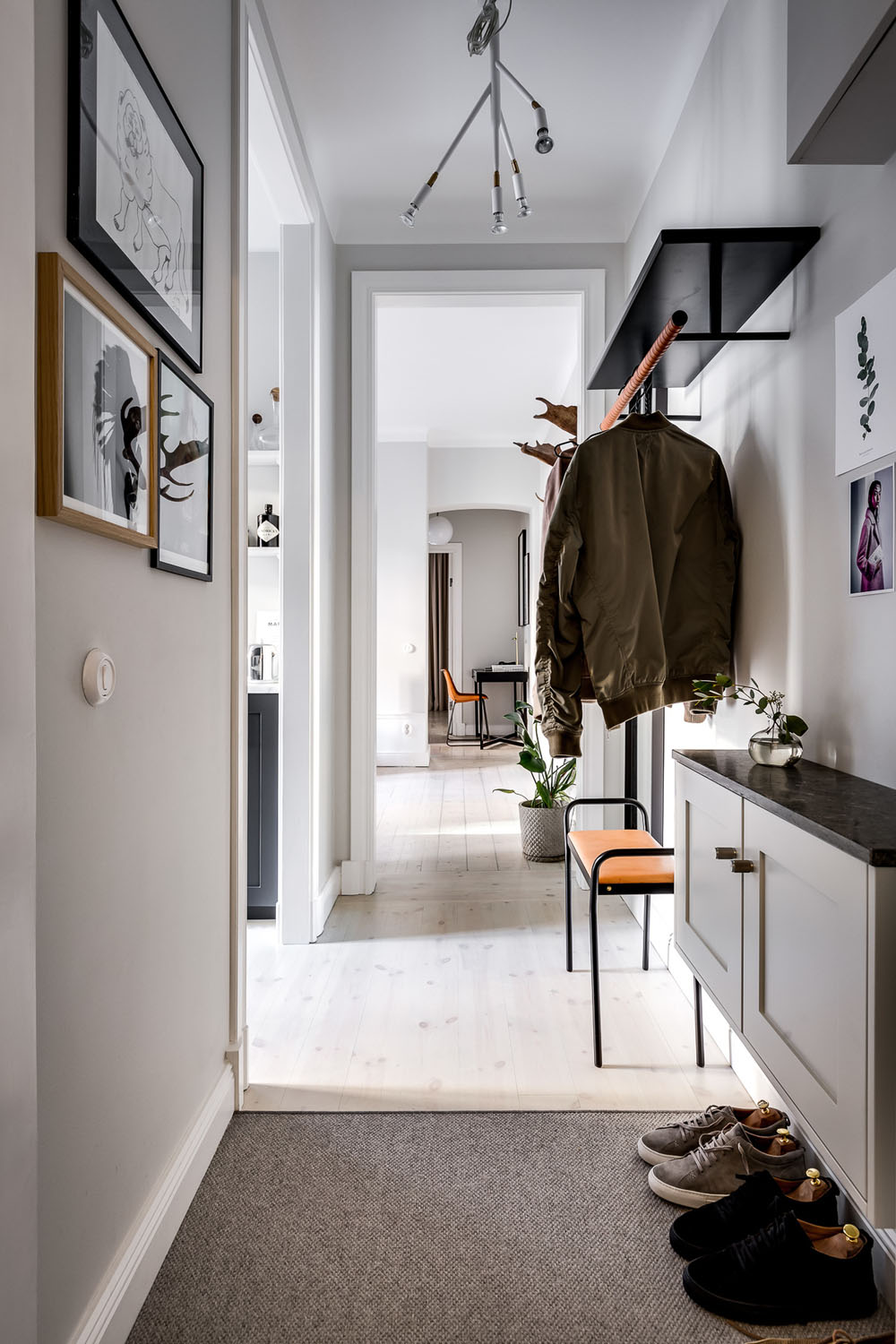 Luxurious Contemporary Small One Bedroom Apartment Sweden 12