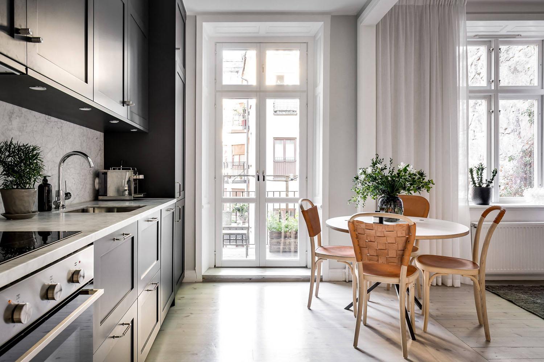Luxurious Contemporary Small One Bedroom Apartment Sweden 6 Idesignarch Interior Design Architecture Interior Decorating Emagazine