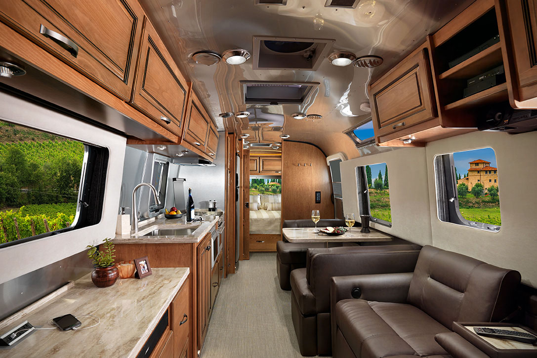 5af920e069 Luxury Airstream Classic Trailer Designed for Full-Time Living ...
