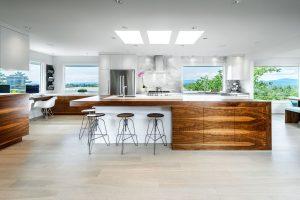 Mountain Residence Modern Kitchen