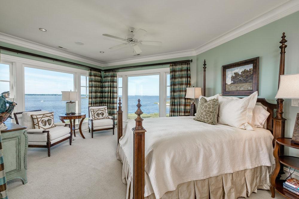 Elegant Waterfront Beach Mansion In North Carolina With