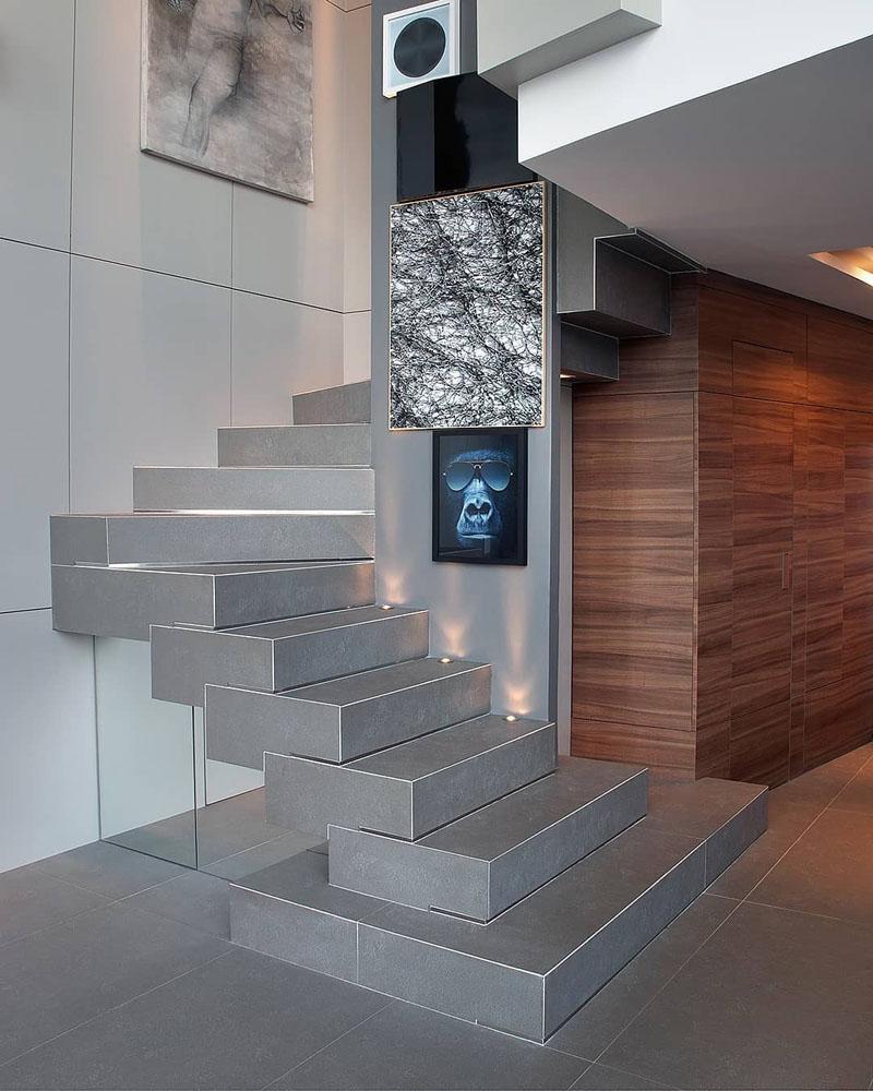 Modern Loft Apartment Staircase