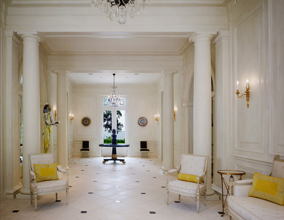French Neoclassical Mansion On A Bluff Over The Potomac River Idesignarch Interior Design