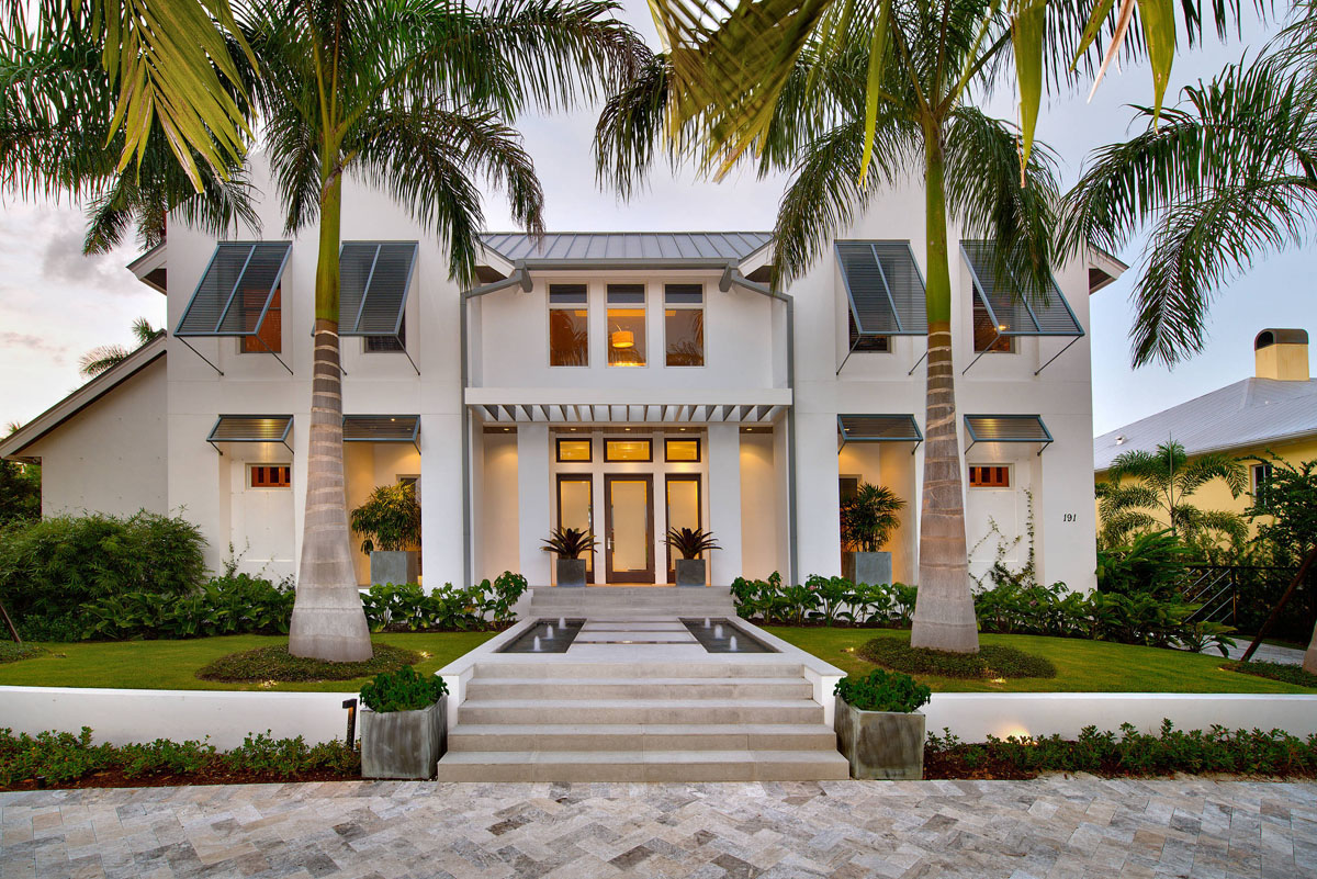 Luxury Modern Coastal Living Naples Florida 1