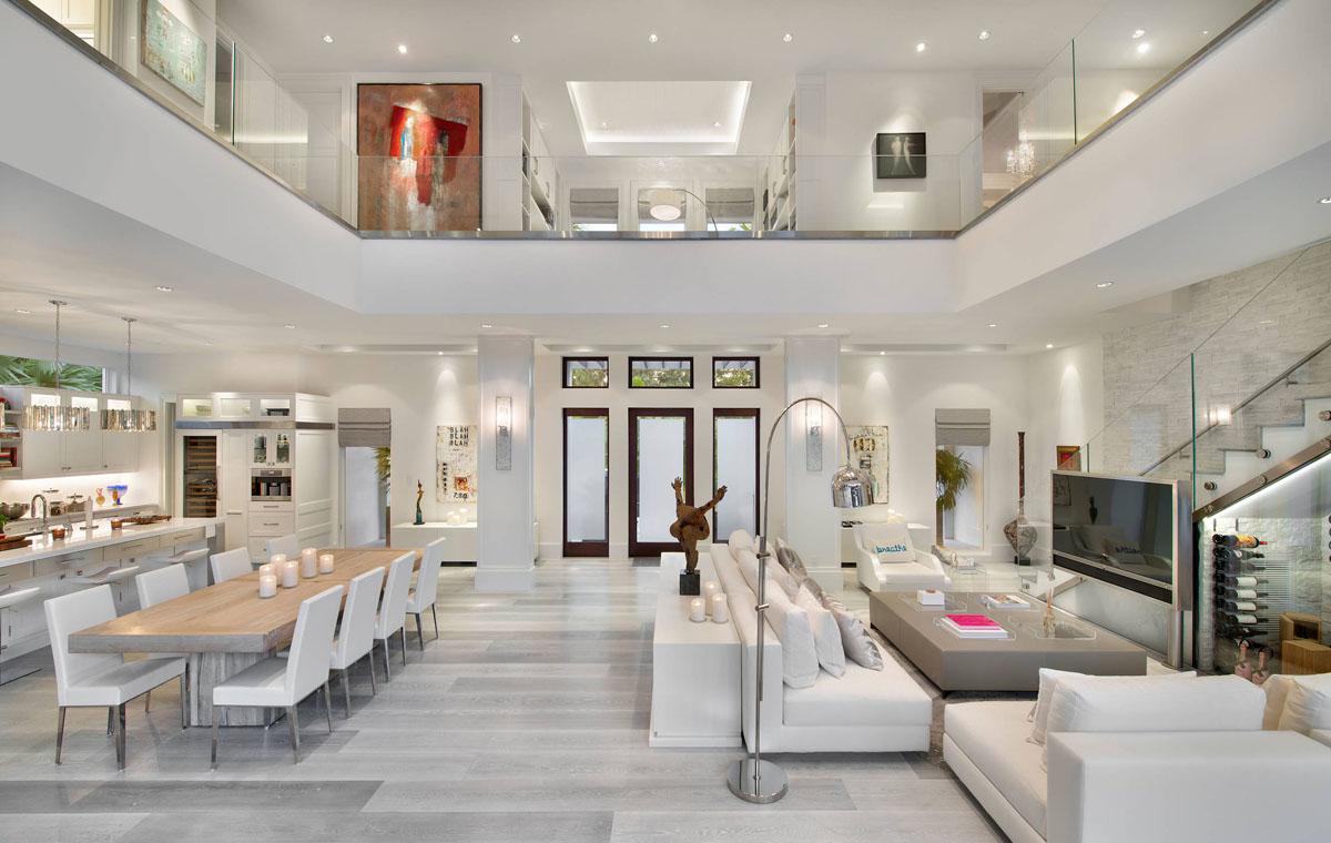 Custom Resort Like Beach Style Modern Coastal Home In