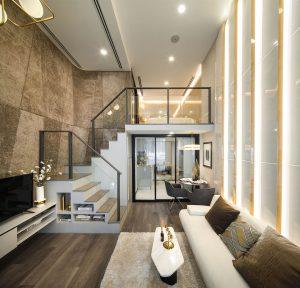 Luxury Modern Loft Studio Apartment Bangkok Thailand 1